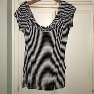 American rag drop neck blouse
