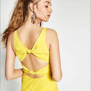 Brand new Zara dress tag attached