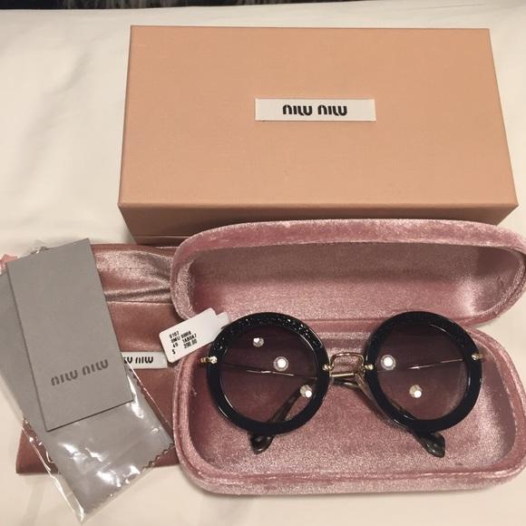 MIU MIU Sonnenbrille MU 08RS cXLOWfmsRf