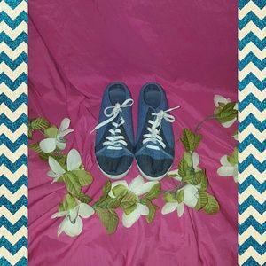 Blue Jean Style Sneakers