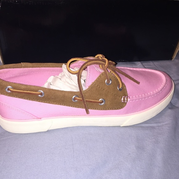 Mens Pink Polo By Ralph Lauren Shoes