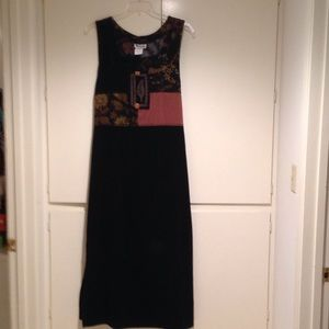 Dresses & Skirts - Tribal mixed fabric long dress