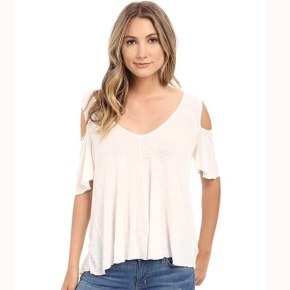 a3876e018c3cf Free People Tops - Free People Bittersweet Cold Shoulder Tee