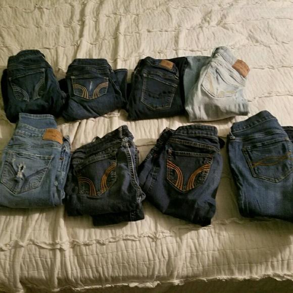 Hollister Denim - Name brand jeans