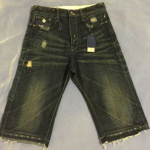 G-Star Denim - NWT [G-Star] Grunge Wash Cropped Denim - 26