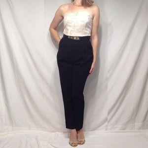 Fashion Union Pants - 💫HP✨Black & Gold Romper 🍾👠🎩
