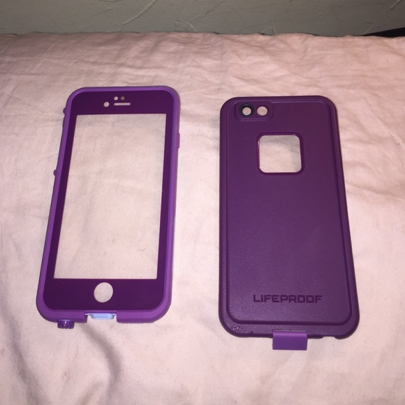 online retailer bfc17 9a4cc Crushed purple lifeproof case