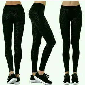 Pants - 🔷️Women's Leopard Jacquard Nylon Leggings🔷️