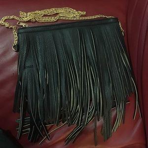 Classy Fringe crossbody bag