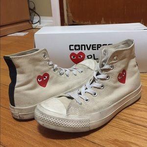 7d643db22d3de2 Comme des Garcons Shoes - Comme des Garcon Converse (size 6 M   size 8