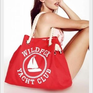 NWT WILDFOX Yacht Club Reversible Lobster Bag呂