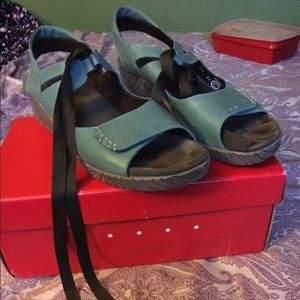 Wolky Wedge Sandals