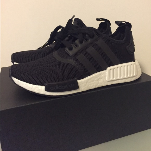 online store 32216 68757 Adidas R1 NMD Black Youth 4.5 Women's 6.5 Boutique