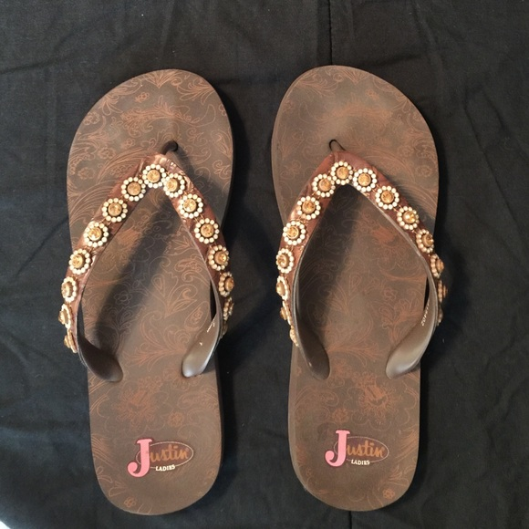0af911e401c46c Justin Boots Shoes - Ladies Justin Bling Sandals