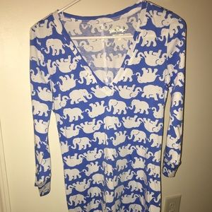 Lilly Pulitzer Elephant Dress