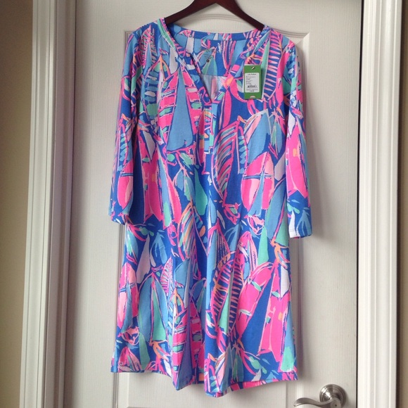 15bdfdceb18316 Lilly Pulitzer Dresses | Nwt Ali Dress Bay Blue Out To Sea | Poshmark