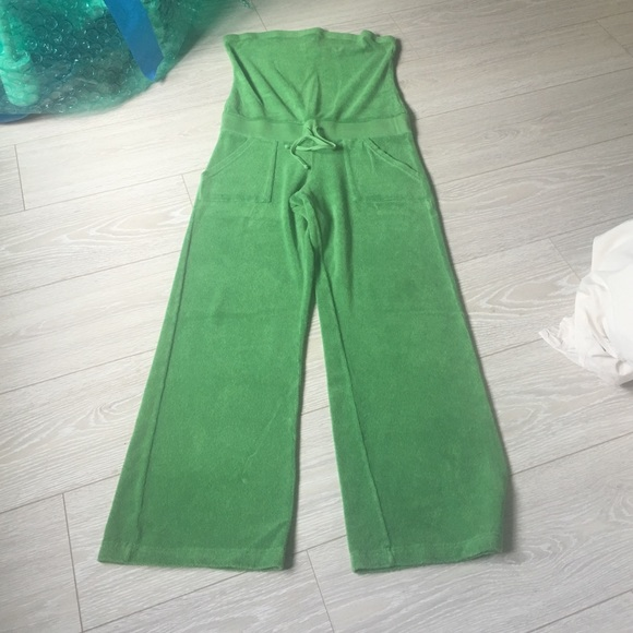 a4af7769a093 Juicy Couture Other - Juicy couture Apple green jumpsuit