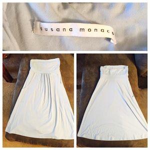 Susana Monaco Tube dress in Light Blue sz S