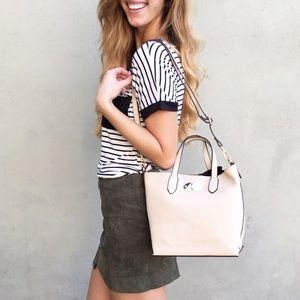 | new | beige handbag