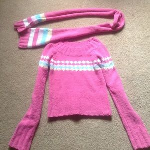 Energie Sweaters - Sweater and scarf set!!