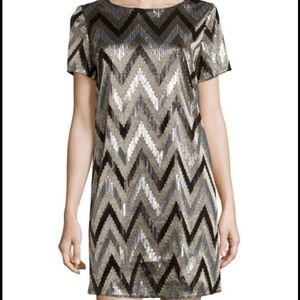 Michael Kors Dresses & Skirts - Michael Kors Zigzag Sequin Shirtdress
