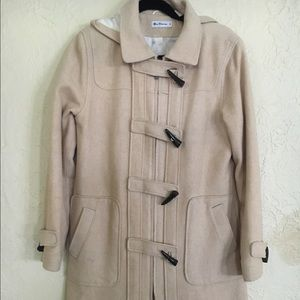 Ben Sherman Wool Toggle Coat