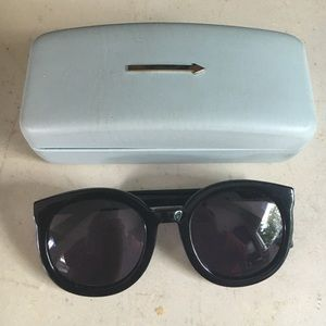 Karen Walker Black sunglasses