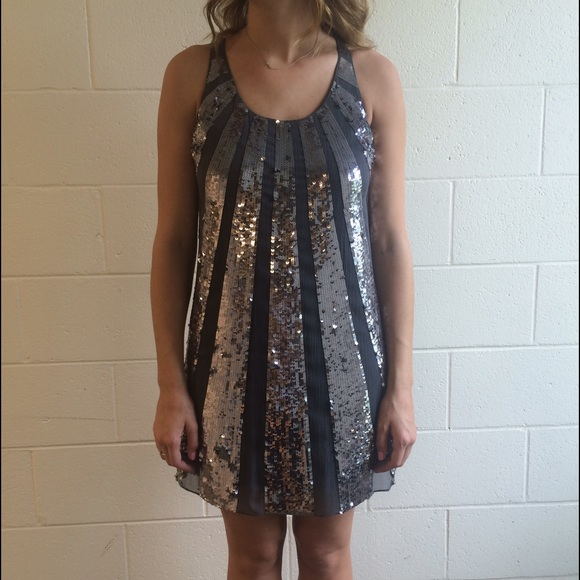 02846459108e Juicy Couture sequin party dress