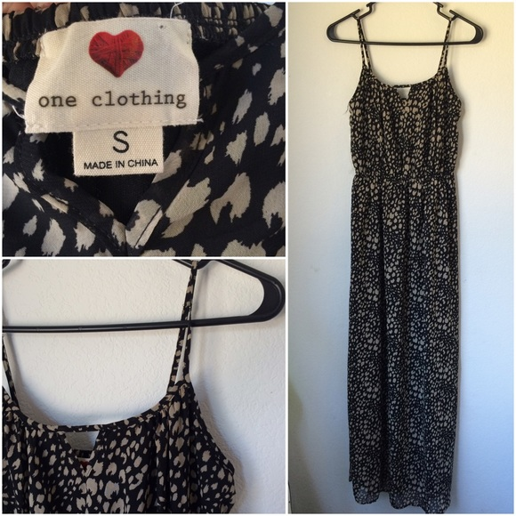 One clothing brand maxi dress
