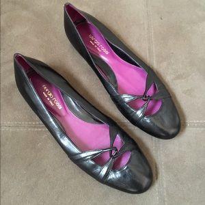 Sergio Rossi Shoes - Sergio rossi black leather flats