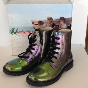 Naturino Shoes - New Naturino purple/green ankle boots