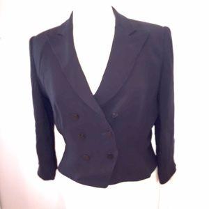 Armani Collezioni black suit jacket