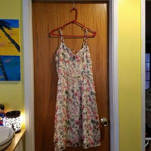 Romy Dresses & Skirts - Yellow and Floral Sundress