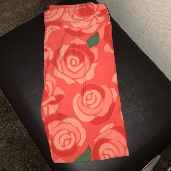 LuLaRoe - Lularoe NWT TC Disney rose leggings from Tu0026#39;s closet on Poshmark