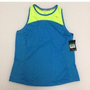 Nike tank Boston Miler running marathon top shirt
