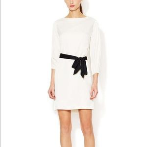 Catherine Malandrino Delia Silk Belted Shift Dress