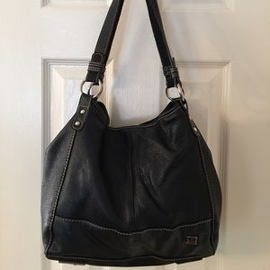 The Sak Handbags - 🛍 The Sak Large Black Leather Shoulder Bag