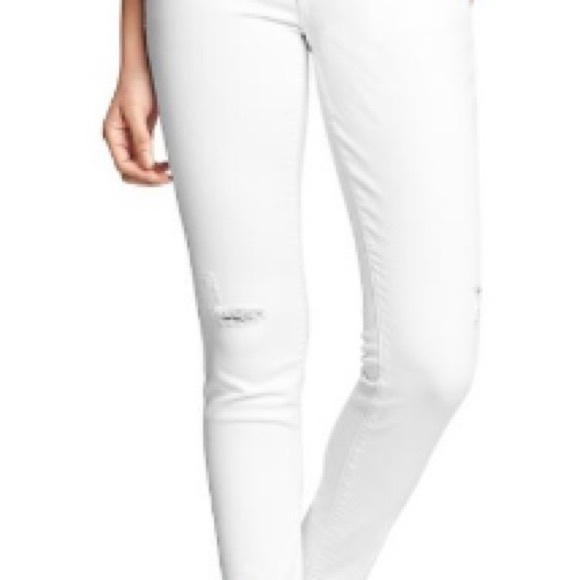 Old navy rockstar skinny jeans low rise