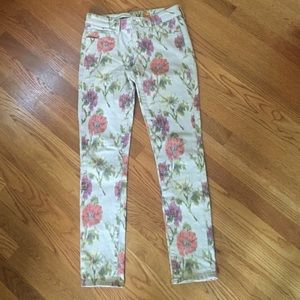 Anthropologie Denim - Pilcro by Anthropology, patterned jeans