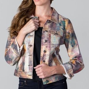 FIGI Jackets & Blazers - Galaxy FIGI Premium Designer Milky Way Jean Jacket