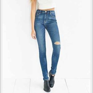 Urban outfitters high waisted skinny jeans 26