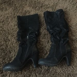 Coconuts Shoes - Coconuts Black Heel Boot Size 10
