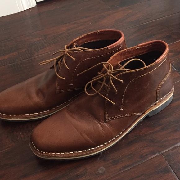 a78279ee5ec Steve Madden Brown Harken Chukka Boots