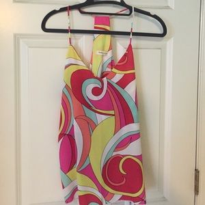 Pucci inspired tank top