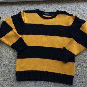 Polo cotton sweater, Lg