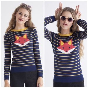 Foxy Striped Sweater