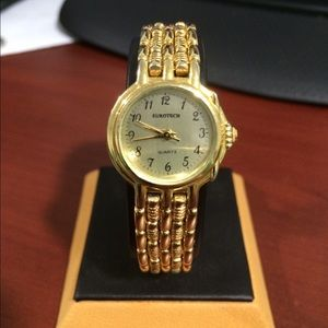 Accessories - Eurotech Women's Gold Tone Stainless Steel Watch