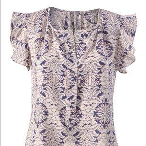 CAbi Tops - CAbi flutter sleeve blouse