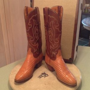 Lucchese Shoes - Vintage New never worn Lucchese boots