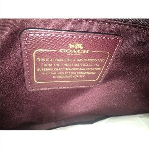 8caaff9922 Coach Bags - Authentic COACH Burgundy Tote OXBLOOD Zip Bag